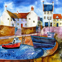 Beautiful Crail. An Open Edtion Print by Anya Simmons