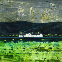 Emerald Valley Cottages, An Open Edition Print by Anya Simmons.