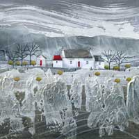 Rays Cottage, Ireland. An Open Edtion Print by Anya Simmons.