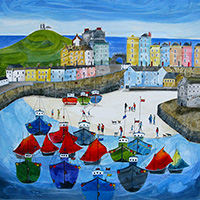 The Tenby Experience 4. An Open Edition Print by Anya Simmons.