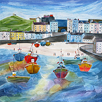 The Tenby Experience 6. An Open Edition Print by Anya Simmons.