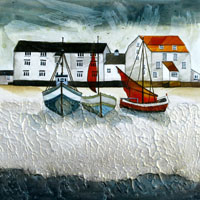 Woodbridge Tide Mill. An Open Edtion Print by Anya Simmons.